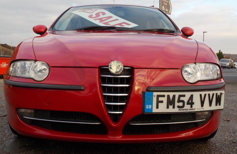 Alfa Romeo 147 2.0 T.Spark Lusso 5dr FM54VVW