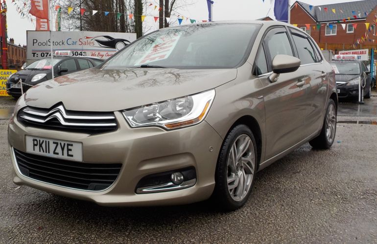 Citroen C4 1.6 e-HDi Airdream Exclusive EGS6 5dr PK11ZYE