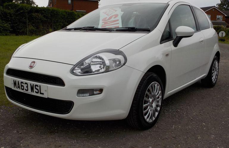 Fiat Punto 1.2 8V Pop 3dr MA63WSL
