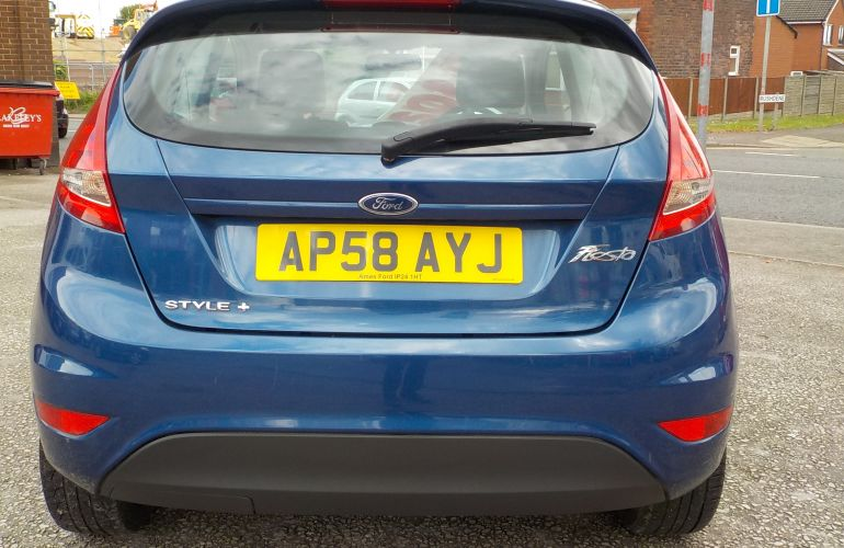 Ford Fiesta 1.25 Style + 3dr AP58AYJ