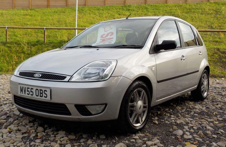 Ford Fiesta 1.4 Ghia 5dr MV55OBS