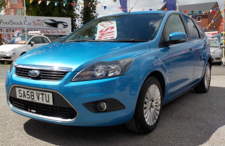 Ford Focus 2.0 TDCi Titanium 5dr SA58VTU