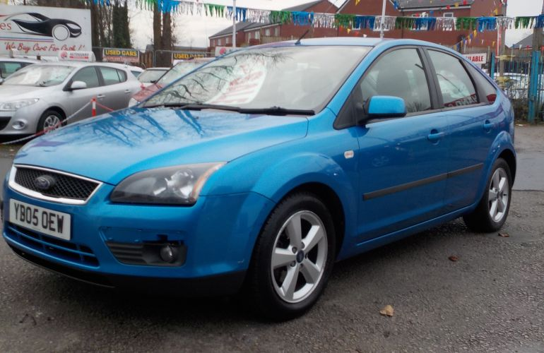 Ford Focus 1.6 Zetec Climate 5dr YB05OEW