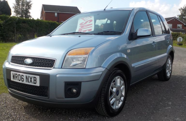 Ford Fusion 1.4 Zetec Climate 5dr WR06NXB