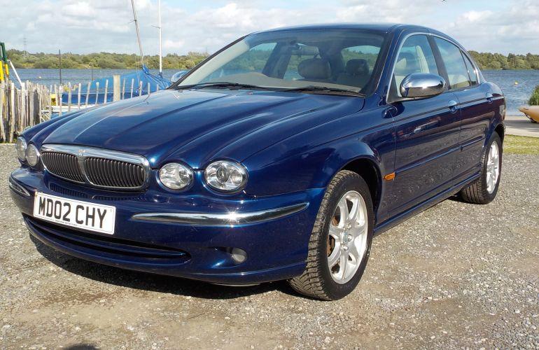 Jaguar X-Type 2.1 V6 SE 4dr MD02CHY