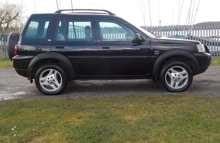 Land Rover Freelander 2.0 TD4 HSE 5dr DA06VZY