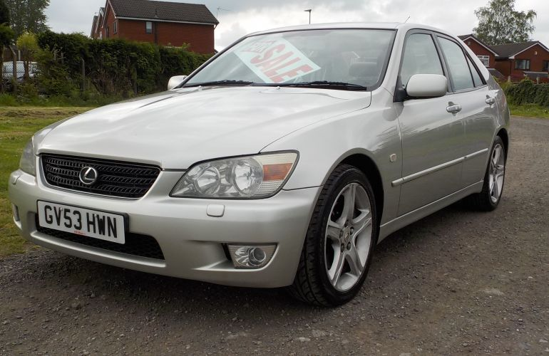 Lexus IS 200 2.0 SE 4dr    GV53HWN