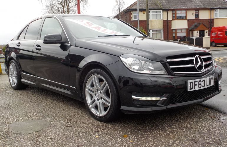 Mercedes-Benz C Class 2.1 C220 CDI AMG Sport Edition (Premium Plus) 7G-Tronic Plus 4dr DF63LWY