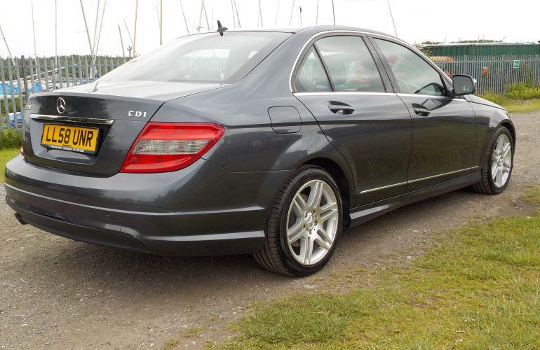 Mercedes-Benz C Class 2.1 C220 CDI Sport 4dr     LL58UNR