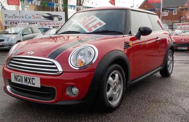 MINI Hatch 1.6 One (Pepper) 3dr NG11MXC