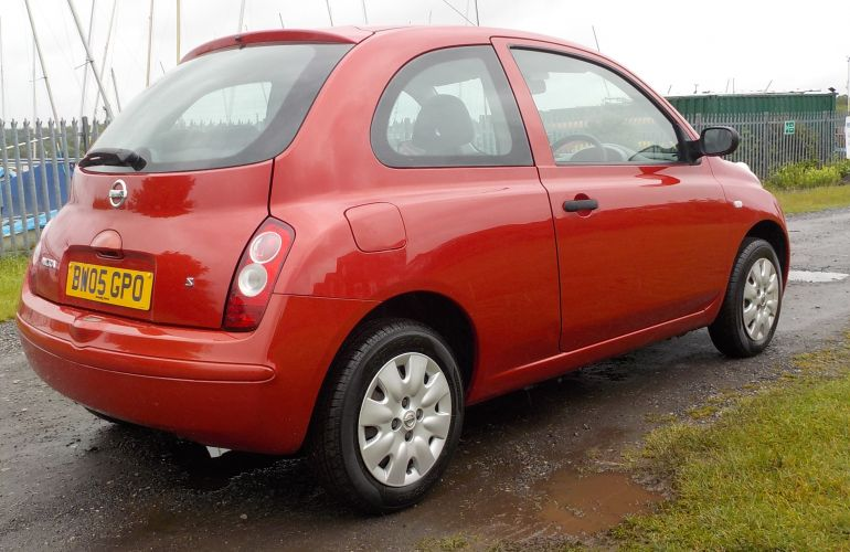 Nissan Micra 1.2 16v S 3dr BW05GPO