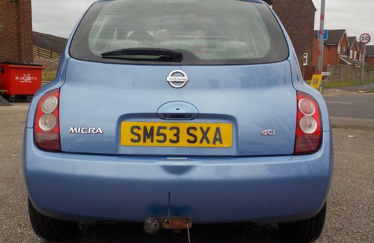 Nissan Micra 1.5 dCi SE 5dr     SM53SXA  2003 (53)