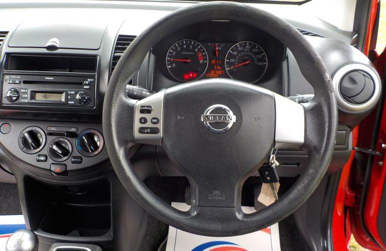 Nissan Note 1.6 16v Visia 5dr    KV59UPY
