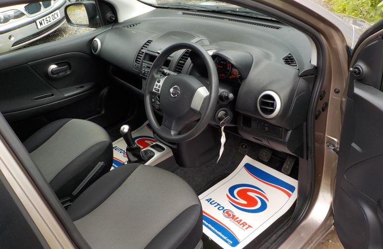 Nissan Note 1.6 16v Visia 5dr     PO11XYH