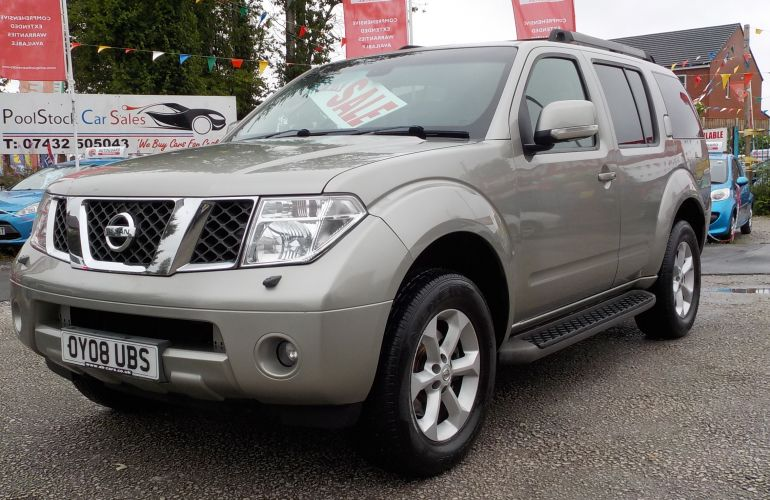 Nissan Pathfinder 2.5 TD Mammoth Sports Adventure 5dr OY08UBS