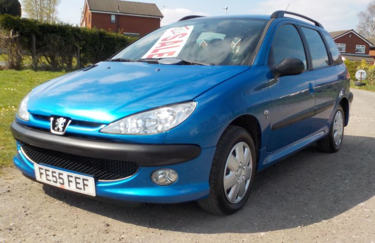 Peugeot 206 SW 1.4 HDi S 5dr (a/c) FE55FEF
