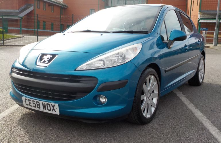 Peugeot 207 1.4 HDi S 5dr (a/c) CE58WOX