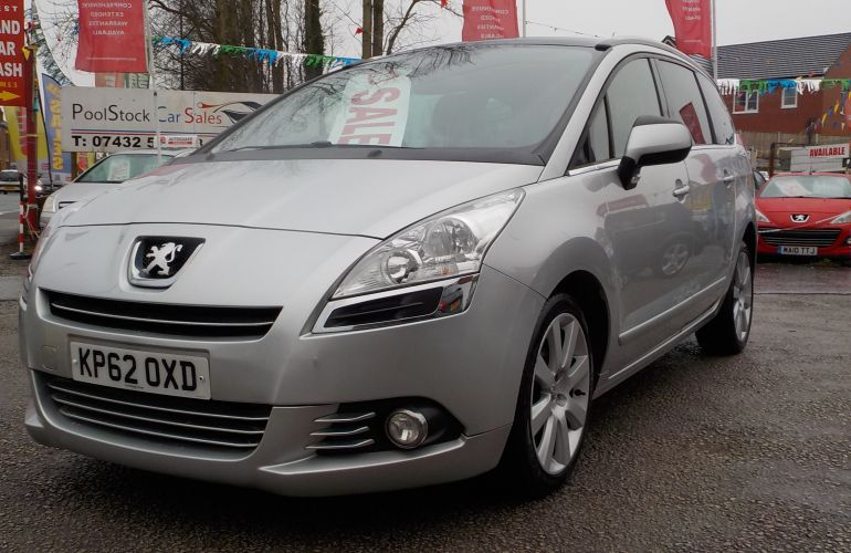 Peugeot 5008 1.6 HDi FAP Allure 5dr KP62OXD