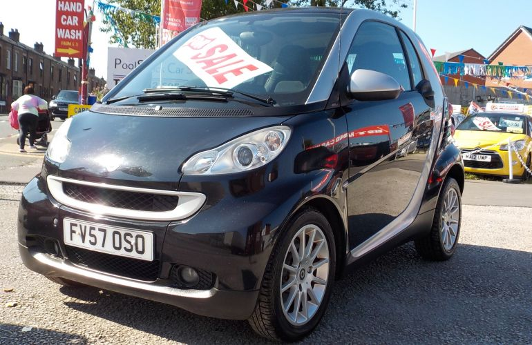 Smart fortwo 1.0 MHD Passion Cabriolet 2dr FV57OSO