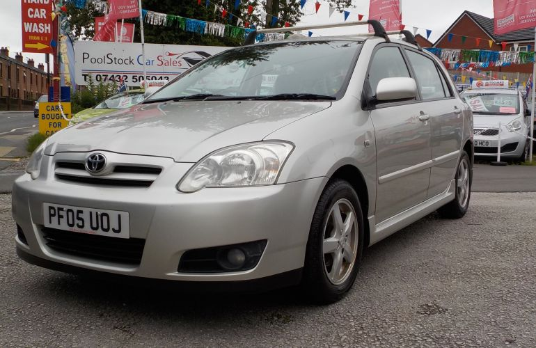 Toyota Corolla 1.4 VVT-i Colour Collection 5dr PF05UOJ 2005 (05)