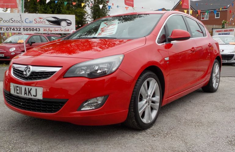 Vauxhall Astra 1.6 16v SRi 5dr VE11AKJ
