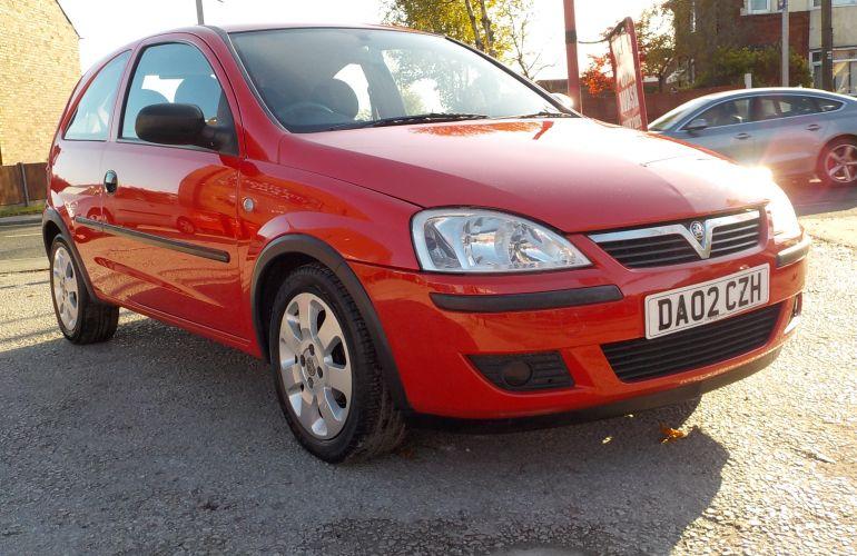 Vauxhall Corsa 1.0 i 12v Club 3dr DA02CZH
