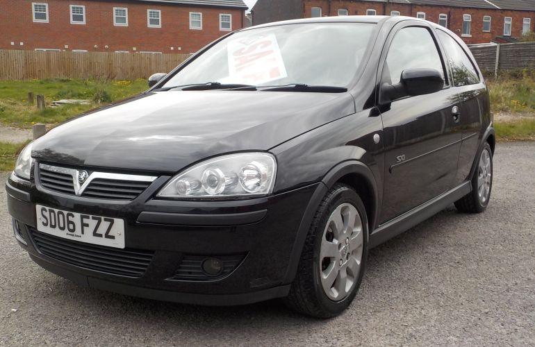 Vauxhall Corsa 1.2 i 16v SXi+ 3dr SD06FZZ