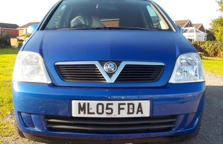 Vauxhall Meriva 1.4 i 16v Breeze 5dr ML05FDA