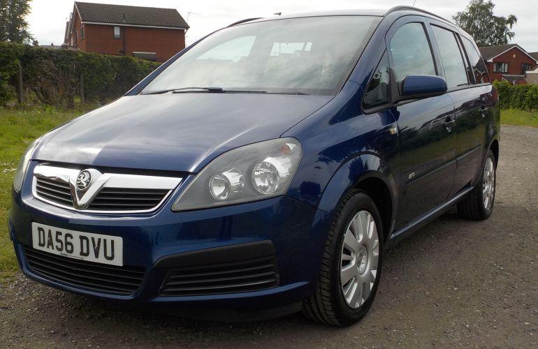 Vauxhall Zafira 1.6 i 16v Life 5dr DA56DVU
