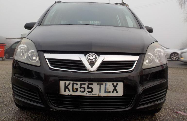 Vauxhall Zafira 1.6 i 16v Club 5dr KG55TLX