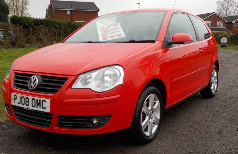 Volkswagen Polo 1.2 Match 3dr PJ08OMC